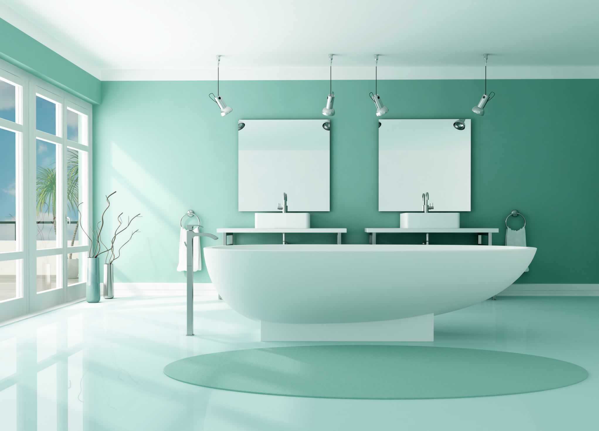 Best paint colors for bathrooms give your bathroom a refresh with paint grey bathroom tiling - Excellent bathroom paint ideas green decoration ...